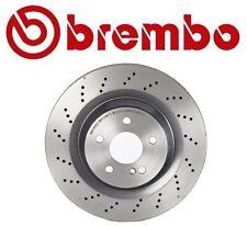 For Mercedes SL55 SL63 SL65 AMG Rear Drilled UV-Coated Disc Brake Rotor Brembo