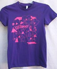 Maroon 5.Purple & Pink.Women'S.T-Shirt .American Apparel.Usa.New.sz S/M