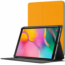 Samsung Galaxy Tab A 10.1 2019 Case Cover Stand | Yellow + Stylus Protector