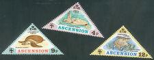 Ascension 1973 Animals - Turtles set of 3 Loggerhead, Hawksbill, Green, MNH/ UNM