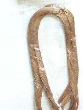 Metallic Japanese Embroidery thread - fine DCG 10 Brown