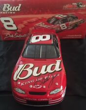 2002 ACTION NASCAR BUD DALE EARNHARDT JR SIGNED1:18 REPLICA CAR PSA DNA AD77087