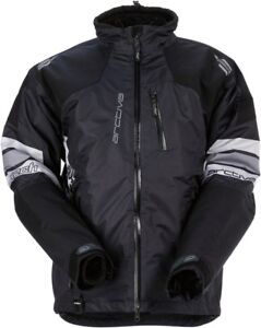 New Men's Arctiva S7 Mech Jacket Snowmobile Jacket ~ Blk/Gray ~ XL ~ # 3120-1570