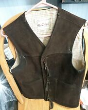 VINTAGE WOODSTOCK MR. CHIPS MEN'S HIPPIE VEST
