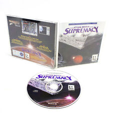 Star Wars Supremacy for PC CD-ROM in Big Box by LucasArts, 1998