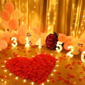 1000pcs/ Bag Party Artificial Flower Rose Petal Fake Decoration For Valentine