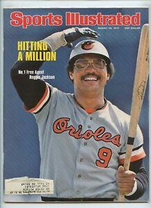 Sports Illustrated Reggie Jackson Orioles 1976 Bernie Fuchs Illustrations
