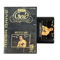 Sega Mega Drive Gold Collection Wrestle War Game Complete No Manual OZI SOFT