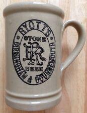 RYOTT'S STONE BEER MUG, STONEWARE PINT, NEW