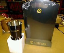 1 x Chivas Regal boxed Stainless Steel Tumbler and Chalk Board  new