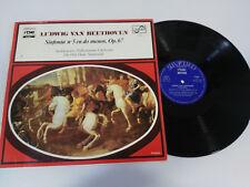SYMPHONIE DE LUDWIG VAN BEETHOVEN N 5 OP 67 LP VINYLE VG/VG ESPAGNOL ED SAPHIR