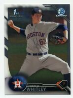 2016 Bowman Chrome Draft FORREST WHITLEY Rookie Card RC #BDC-55 Houston Astros