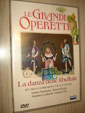 DVD LE GRANDI OPERETTE LA DANZA DELLE LIBELLULE MASSIMINI BERTINI LOMBARDI VILLA