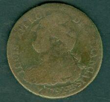 MONNAIE LOUIS XVI  2 SOLS   1792 BB   FRANCAIS  AN 4  B à TB    N° 361