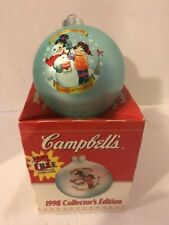 Campbell'S Soup 1998 Collector'S Edition Christmas Ornament
