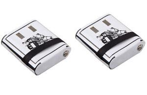 2x Battery Packs Motorola Talkabout Radio T5000 T5022