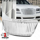 For 2011-2014 Chrysler 300/300C {VERTICAL-BAR} Glossy Chrome Bumper Grille Grill  for sale
