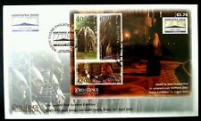 New Zealand The Lord Of The Rings NORTHPEX 2002 (special miniature FDC)