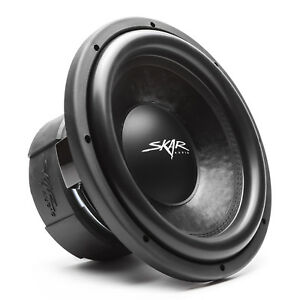 "NEW SKAR AUDIO DDX-15 D2 - 15"" 1,500 WATT DUAL 2 OHM COMPETITION CAR SUBWOOFER"