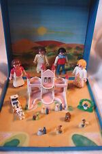 Retired PLAYMOBIL 4330 Fairy Tale Princess Castle Micro World w/Figures & Access