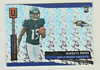 2019 Panini Unparalleled FLIGHT #224 MARQUISE BROWN RC Rookie Baltimore Ravens