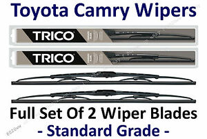 "1992-2001 Toyota Camry Wiper Blades - Set of 2 - 21""+19"" - 30210+30190"