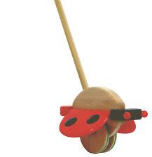 Pousse-Coccinelle-Jouets en bois par bajo