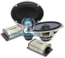 """XS-69 IMAGE DYNAMICS 6"""" x 9"""" 2-WAY COMPONENT SPEAKERS MIDS TWEETERS CROSSOVERS"""