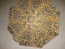 Pierre Cardin Mini Regenschirm Safari 03 braun /schwarz Taschenschirm Damen Leo