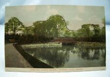 VICTORIA PARK NELSON LANCASHIRE POSTCARD 1905 'CONTRARY TO REGULATION 75' COLNE