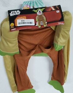 Rubie's Star Wars Yoda with Plush Arms Pet Costume, Multicolor, X-Large