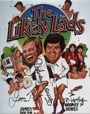 The Likely Lads Photo Signed By Rodney Bewes, Brigit Forsyth & James Bolam-B1042