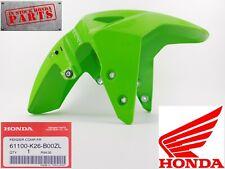 HONDA GROM 125 INCREDIBLE GREEN FRONT FENDER 2019 2020 61100-K26-B00ZL OEM