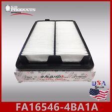 FA16546-4BA1A CA11858 WA10215 16546-4BA01 ENGINE AIR FILTER ~ 2014-18 ROGUE 2.5L