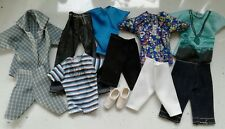 Ken barbies Boyfriend Fashion Doll Clothes Bundle 11 objets avec des chaussures lot 1