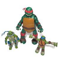 Teenage Mutant Ninja Turtle Lot Raphael 10 inch Action Figure Poseable & More