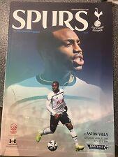 Tottenham Hotspur v Aston Villa 11/04/15 football programme