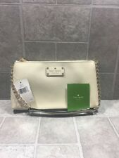 Kate Spade Byrd Wellesley  WKRU1427 Porcelain (137) Leather Original $165