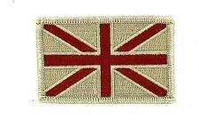 Patch ecusson brode thermocollant drapeau uk anglais royaume uni airsoft camo