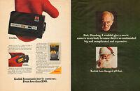 1960 vintage Christmas photography AD  KODAK INSTAMATIC 8mm Movie Cameras 110615