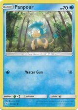 4x Panpour - 36/147 - Common Burning Shadows Pokemon Near Mint