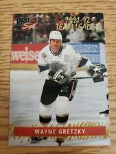 1992-93 Pro Set Gold Team Leaders #6 Wayne Gretzky