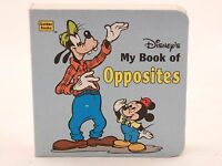 """NEW! My Book of Opposites (A little nugget book) Board Book. 4"""" by 4"""". 1994"""
