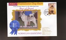 Westminster Dog Show 1st Place Best Of Breed Souv Cover, Norwegian Elkhound
