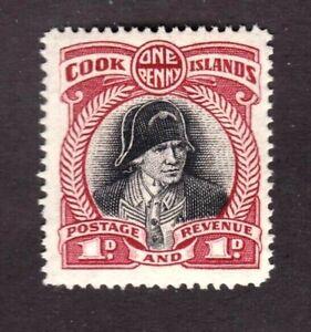 Cook Islands stamp #85, MHOG, VF - XF, perf. 14, 1932, SCV $17.50