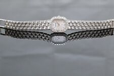 Bucherer 18k White Gold Diamond - Ladies Watch