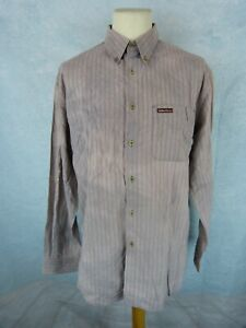 MARLBORO CLASSICS Chemise Homme Taille XL - rayure - Manches longues