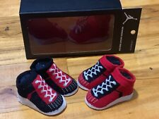 Micheal Jordan Newborn Infant Booties  0-6 Months RARE JORDAN 1 Colorway