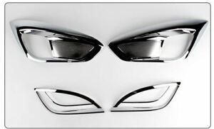 Chrome Fog Lamp Reflector Mording For Hyundai Tucson IX(2009~2014)