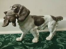 Bing & Grondahl Royal Copenhagen Springer Spaniel Hunting Dog & Bird #2061